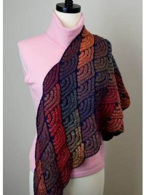 Dragon Wing Shawl