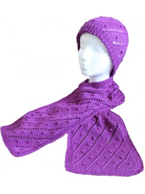 Flower Bed Scarf & Hat