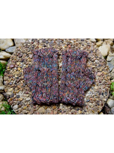 Tree Trunk Fingerless Glove